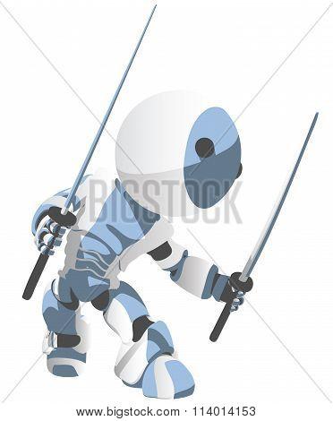 Toon Robot Ninja