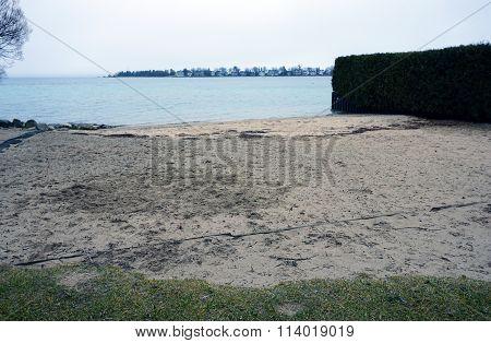 Public Beach on Zoll Street in Harbor Springs
