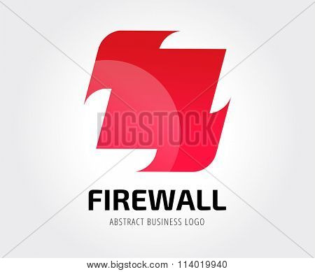 Arrow abstract logo template. Up, cursor icon, creative idea, arrowheads marker and dynamic or moving. Company identity. Stock illustration