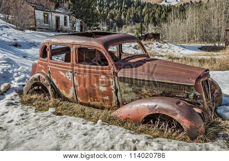 Four Door Antique Vehicle