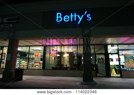 Betty's on New Year's Eve