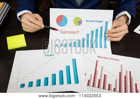 Business Meeting Concept, Achieve Target, Success