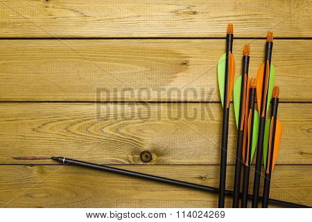 Set Of Arrows For The Sports Of Archery