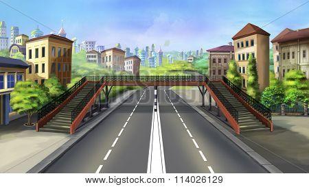crosswalk in a city - 3