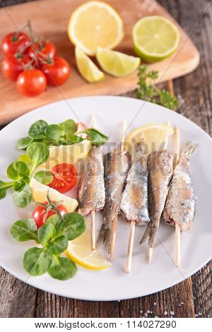 barbecue sardine