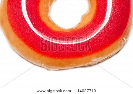 Red And Colorful Donuts