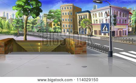 Underground crossing