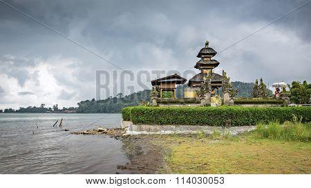 The Pura Ulun Danu Bratan Temple in Bali