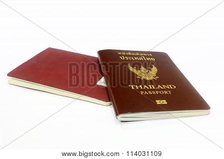 The twin thailand passport