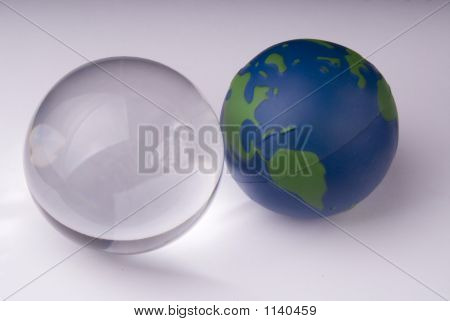 Crystal Ball And Globe