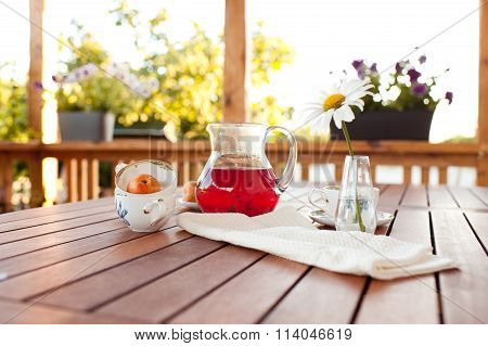 Fresh homemade juice