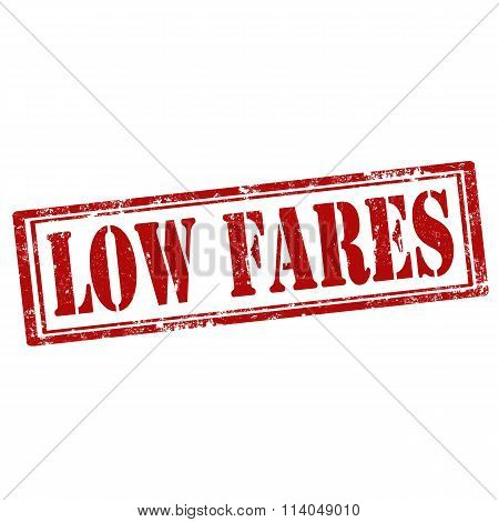 Low Fares-stamp