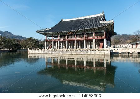 Gyeongbokgung Palace in Korea.