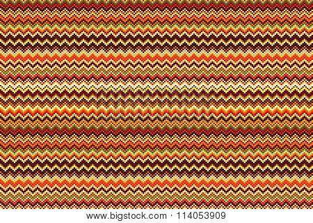 Seamless Vector Geometric Pattern With Zig Zag Stripes.  Pastel Stripes Background