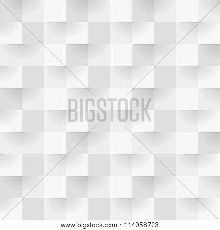 Gray Square Pattern