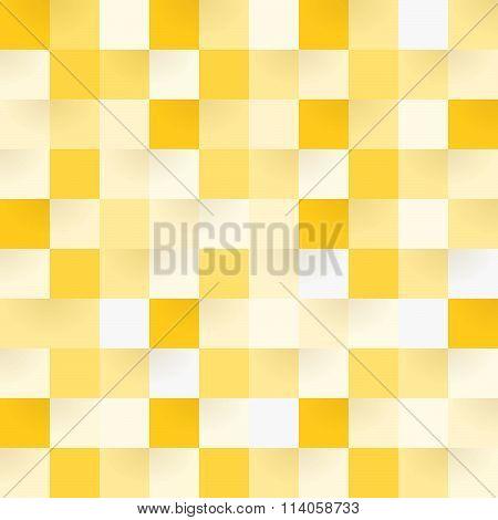 Yellow Square Pattern