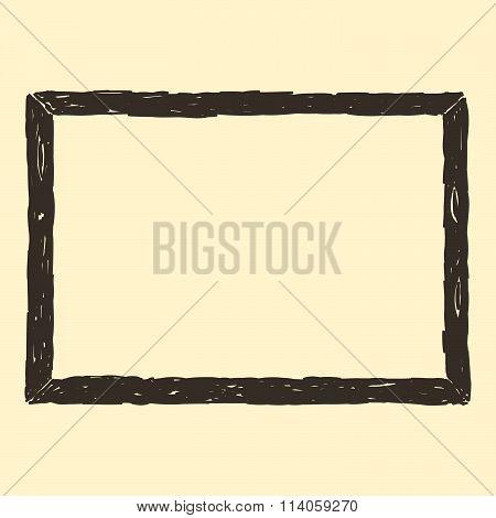 Brown Frame Sketch