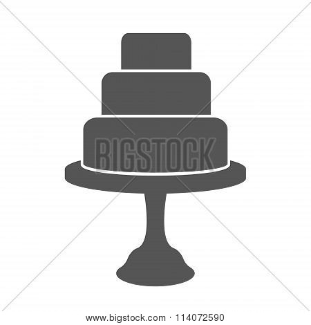 Tiered cake label