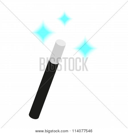 Magic Wand isometric 3d icon