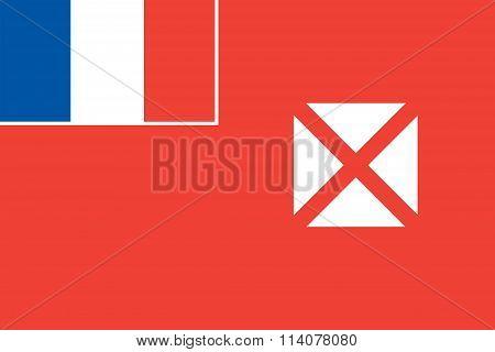 Wallis and Futuna Local Flag