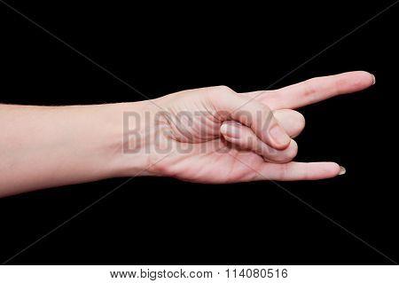 I Love You Hand Gesture