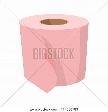Toilet paper cartoon icon