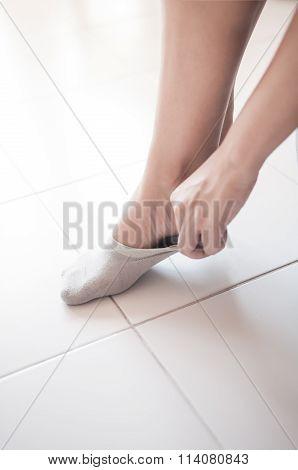 Sock Wearing