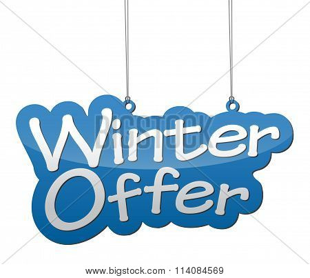 Background Winter Offer