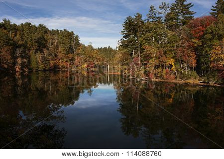 Santeetlah Lake Autumn Colors