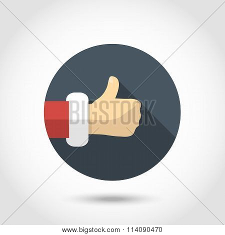 Thumb up hand icon