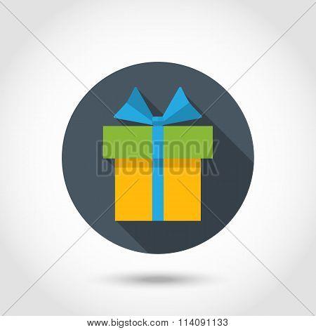 Vector Present colorful icon