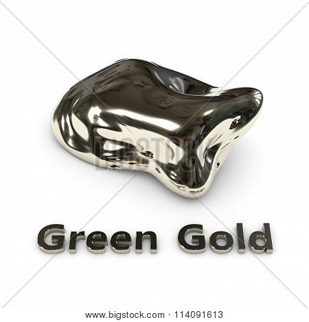 Green Gold stone