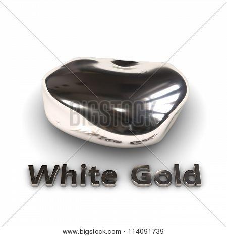 White Gold stone