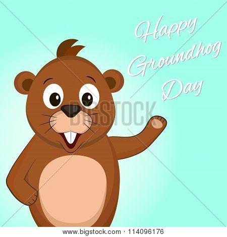 Happy Groundhog Day Theme.