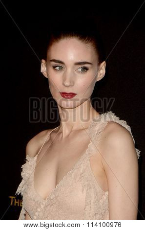 LOS ANGELES - JAN 10:  Rooney Mara at the Weinstein Company & Netflix 2016 Golden Globe After Party at the Beverly Hilton on January 10, 2016 in Beverly Hills, CA