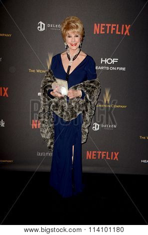 LOS ANGELES - JAN 10:  Karen Sharpe Kramer at the Weinstein Company & Netflix 2016 Golden Globe After Party at the Beverly Hilton on January 10, 2016 in Beverly Hills, CA
