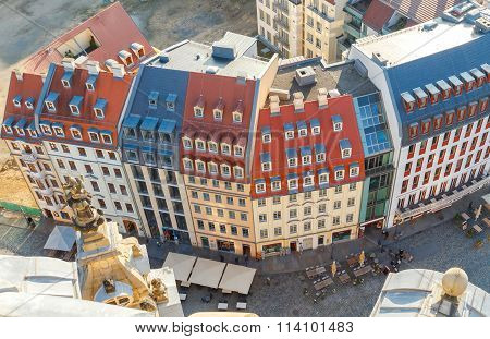 View of Dresden from a height.