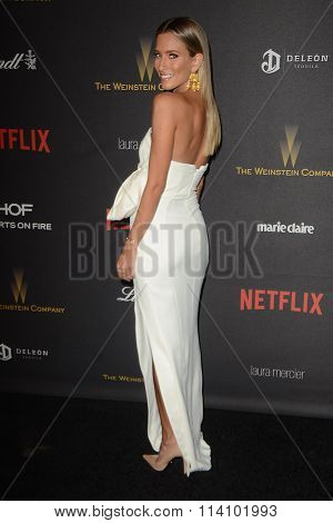 LOS ANGELES - JAN 10:  Renee Bargh at the Weinstein Company & Netflix 2016 Golden Globe After Party at the Beverly Hilton on January 10, 2016 in Beverly Hills, CA