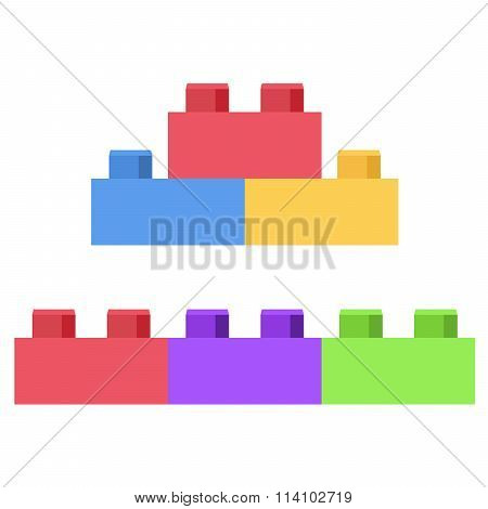 Plastic building block - toy construction set