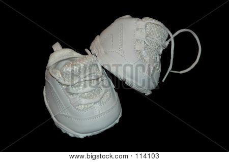 White Children's Shoes