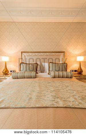 Quba - MARCH 24, 2015: Rixos Hotel on March 24 in Azerbaijan, Qu