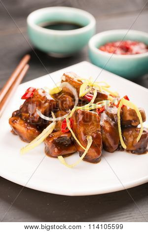 Traditional Chinese Kung Pao Chicken