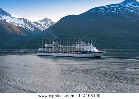 Cruise Ship In Skagway
