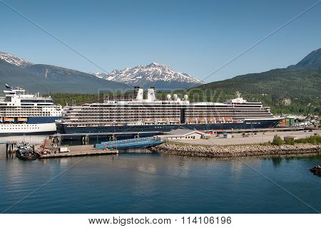 Cruise Ships In Skagway