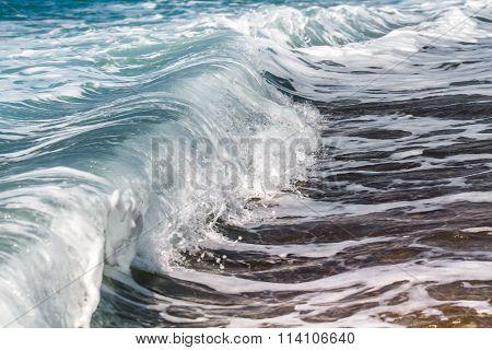 Oncoming Sea Wave.