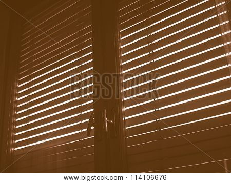 Window Blinds Vintage