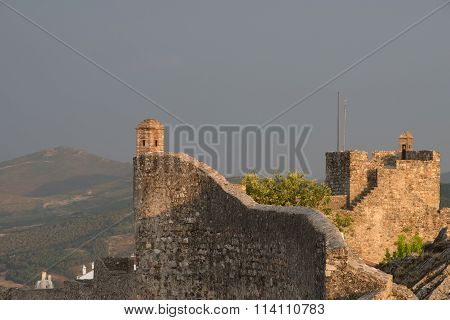 The Castle of Marvao in Portugal