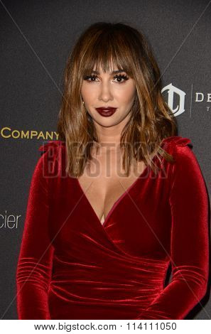 LOS ANGELES - JAN 10:  Jackie Cruz at the Weinstein Company & Netflix 2016 Golden Globe After Party at the Beverly Hilton on January 10, 2016 in Beverly Hills, CA