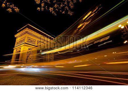 Arch de Triumph, Paris, France