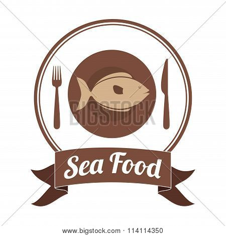 sea food fish design